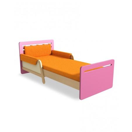 Gyerek ágyak TI Simple Kihúzható ágy 90 x 165-205