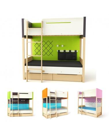 TI Plus emeleteságy gyerekbútor 180 x 100