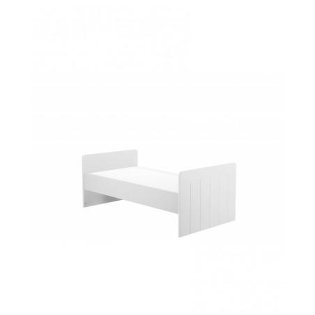 PI Calmo MDF 140x70 cm átalakítható rácsos kiságy szürke és fehér színben