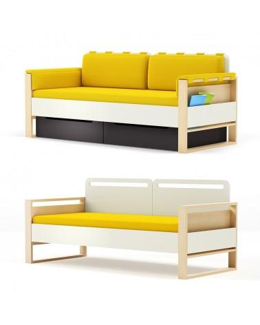 TI Plus gyerek kanapé különböző színekben