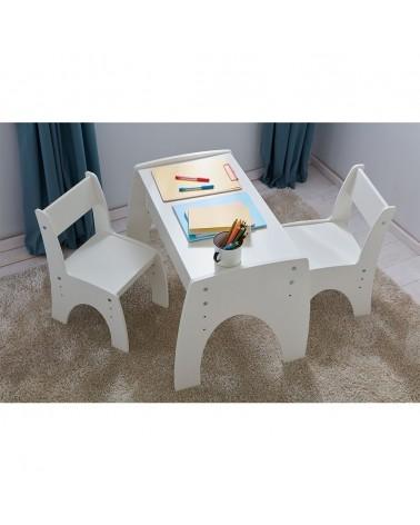 Gyerekszékek PI Klips állítható magasságú asztal és szék szett gyerekbútor