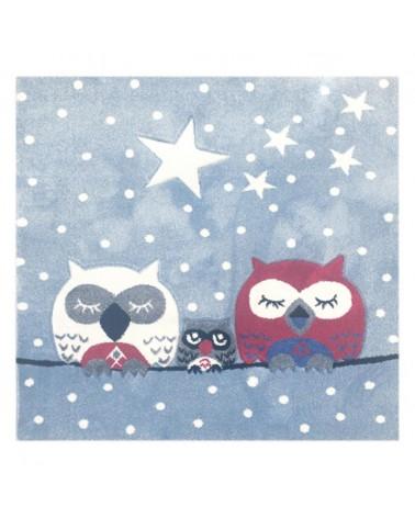 Gyerekszoba Szőnyegek LE Owl I. minőségi gyerekszőnyeg 140x140