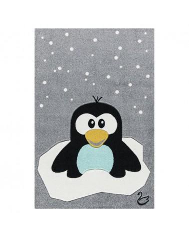 Gyerekszoba Szőnyegek LE Pinguin minőségi gyerekszőnyeg 120x180