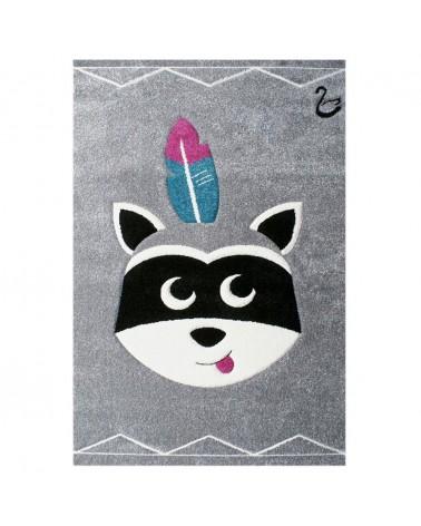 Gyerekszoba Szőnyegek LE Raccoon minőségi gyerekszőnyeg 120x180