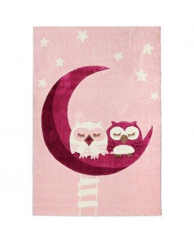 Gyerekszoba Szőnyegek LE Sleeping Owls minőségi gyerekszőnyeg