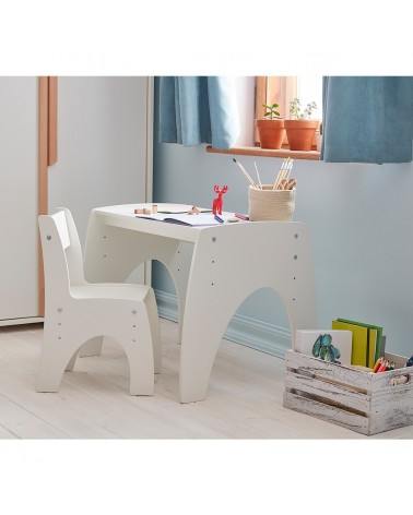Játszóasztalok PI Klips állítható magasságú asztal gyerekbútor