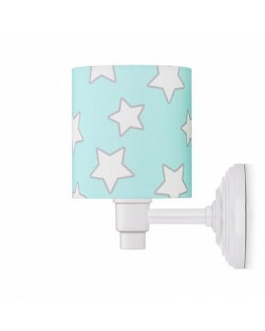 Fali lámpa LC Falilámpa menta - csillag kollekció