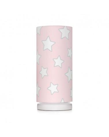 Éjjeli lámpa LC éjjeli lámpa rózsaszín - csillag kollekció