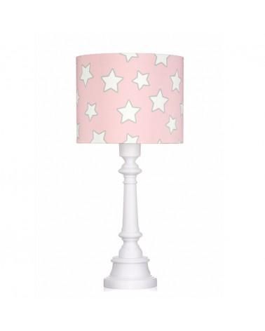 LC asztali lámpa rózsaszín - csillag kollekció