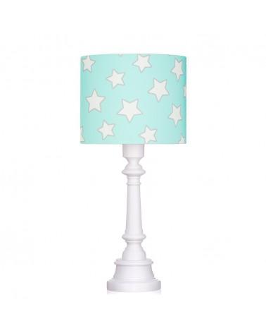 LC asztali lámpa menta - csillag kollekció