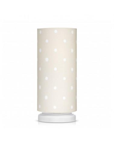 Éjjeli lámpa LC éjjeli lámpa bézs - pöttyös kollekció