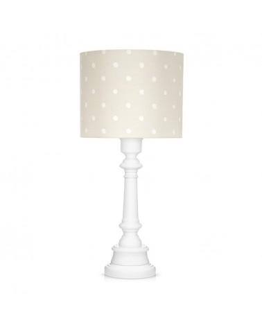 LC asztali lámpa bézs - pöttyös kollekció