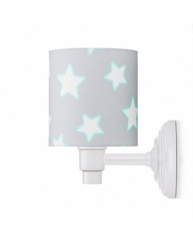 Fali lámpa LC Falilámpa szürke - csillag kollekció
