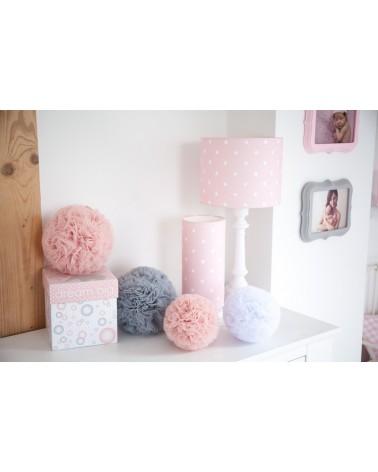 Álló lámpa LC asztali lámpa rózsaszín - pöttyös kollekció