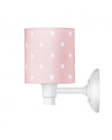 Fali lámpa LC Falilámpa rózsaszín - pöttyös kollekció