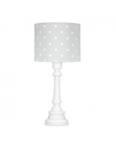 Álló lámpa LC asztali lámpa szürke - pöttyös kollekció