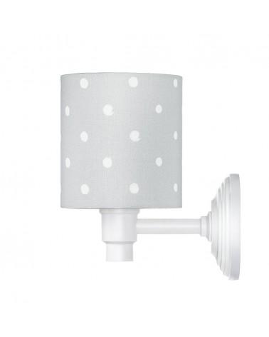 Fali lámpa LC Falilámpa szürke - pöttyös kollekció