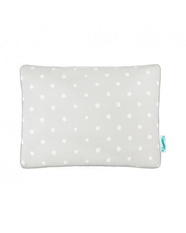 LC párna gyapjú takaróhoz szürke - pöttyös kollekció