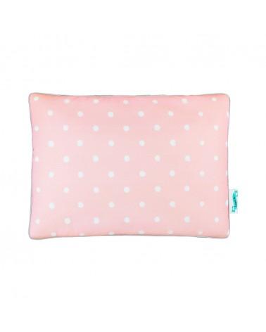 LC párna gyapjú takaróhoz rózsaszín pöttyös kollekció