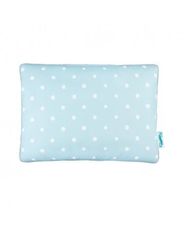 LC párna gyapjú takaróhoz kék pöttyös kollekció
