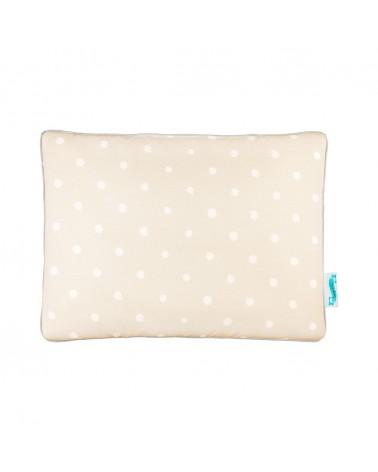 LC párna gyapjú takaróhoz bézs pöttyös kollekció