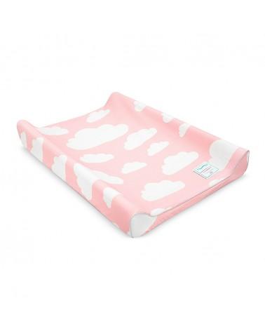 LC pelenkázó 50 x 70 cm rózsaszín - felhő kollekció
