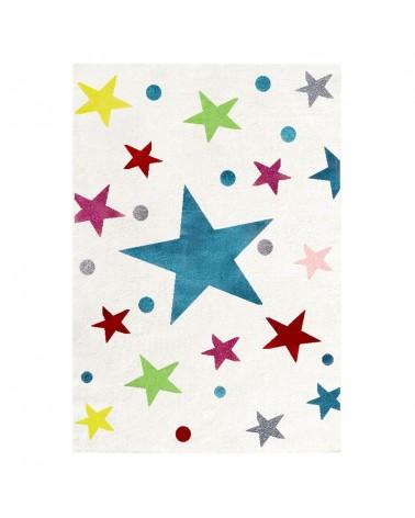 Gyerekszoba Szőnyegek LE Színes Csillagok - minőségi gyerekszőnyeg