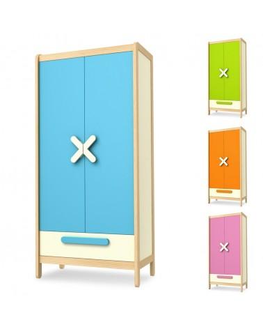Ruhásszekrény, Gardrob TI Simple 2 ajtós szekrény