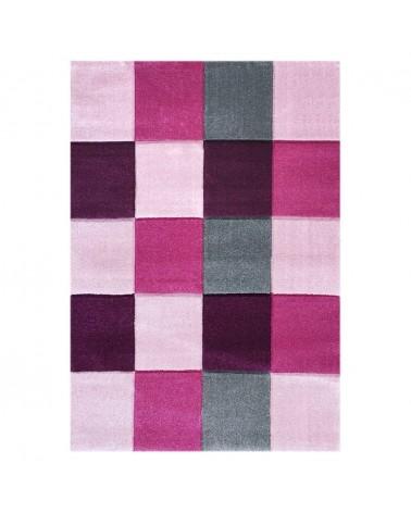 Gyerekszoba Szőnyegek LE Sakktábla Rózsaszín színben - minőségi gyerekszőnyeg