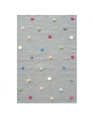 Gyapjú szőnyegek LE Colordots I. Természetes Gyapjúszőnyeg - Minőségi Gyerekszőnyeg