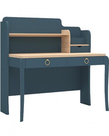 AM Elegant Íróasztal Gyerekeknek Sötétkék