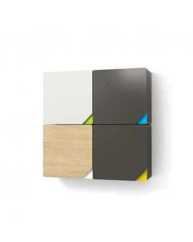 TI Beep fali szekrény II. gyerekbútor különböző színekben