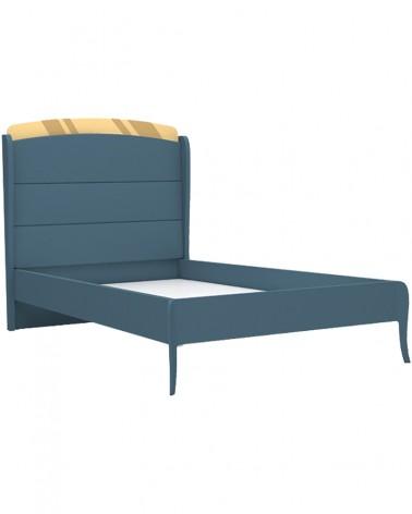 Gyerek ágyak AM Elegant Gyerekágy 100x200 Vagy 120x200 Cm Sötétkék