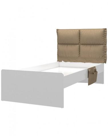 Gyerek ágyak AM Nova Gyerekágy 100x200 Vagy 120x200 Cm Fehér