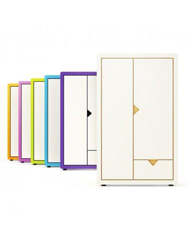 TI Frame gyerek kétajtós szekrény különböző színekben