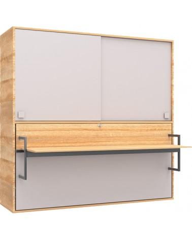 Ruhásszekrény, Gardrob AM Harmony szekrény asztal ágy egyben