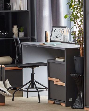 PI Snap íróasztal szürke színben