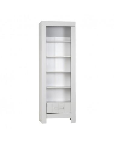 PI Calmo MDF könyvespolc gyerekbútor szürke és fehér színben