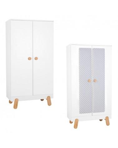 Ruhásszekrény, Gardrob PI Iga 2 ajtós szekrény gyerekbútor
