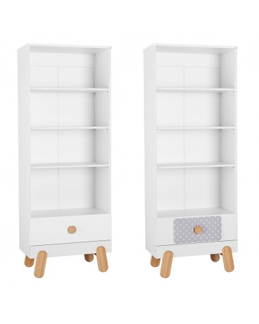 PI Iga könyves szekrény gyerekbútor