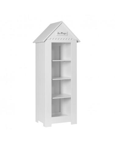 Könyvszekrény PI Marsylia Kis Könyvespolc gyerekbútor fehér színben