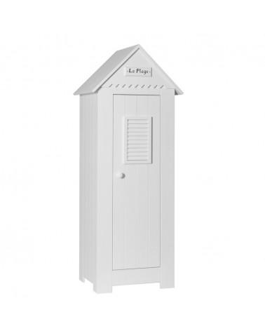 PI Marsylia 1 ajtós szekrény gyerekbútor fehér színben