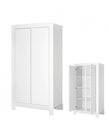 Ruhásszekrény, Gardrob PI Moon 2 ajtós ruhásszekrény gyerekbútor